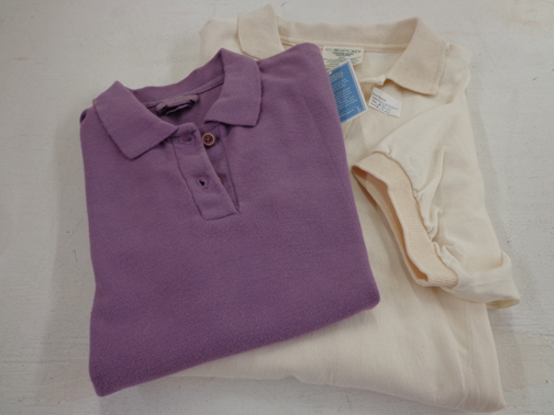 Set of Two Womens Polo Shirts - XS